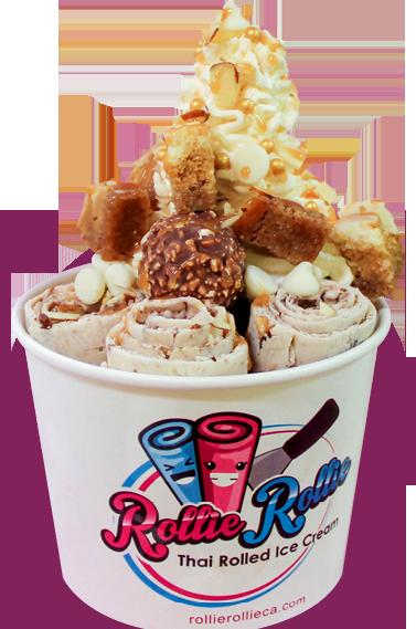 Rollierollieca one of the best Rolled Ice Cream